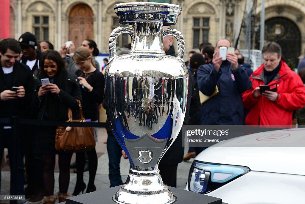 Trophy Tour UEFA EURO 2016 In Paris : News Photo