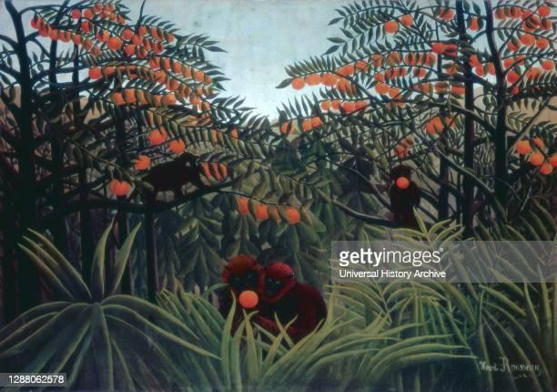 The Tropics', 1910. Artist: Henri Rousseau. Henri Rousseau was a French post-impressionist painter. Ridiculed during his lifetime by critics, he came...