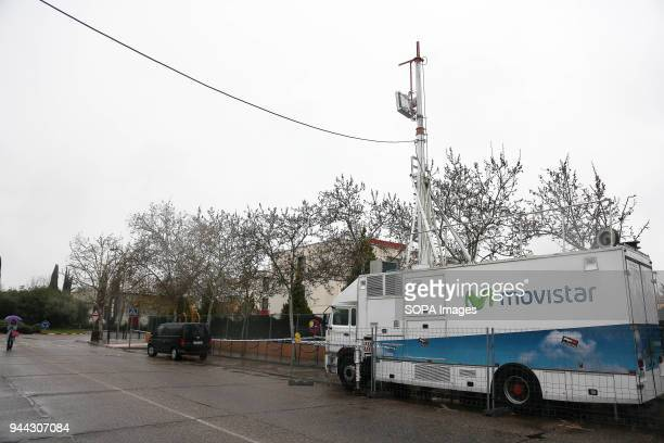 The truck with 5G technology to perform the test Telefónica presented today in Talavera de la Reina the first 5G use case with an EZ10 autonomous...