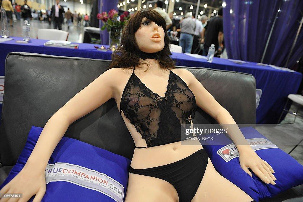 The 'True Companion' sex robot, Roxxxy, : News Photo