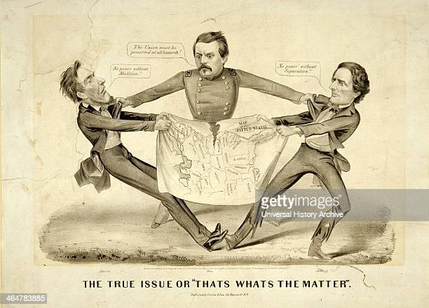 The True Issue or 'That's What's Matter' 1864