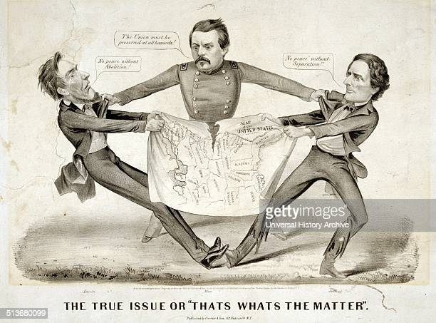 The true issue or 'That's what's the matter'' In a rare proDemocrat cartoon presidential aspirant George Brinton McClellan is portrayed as the...