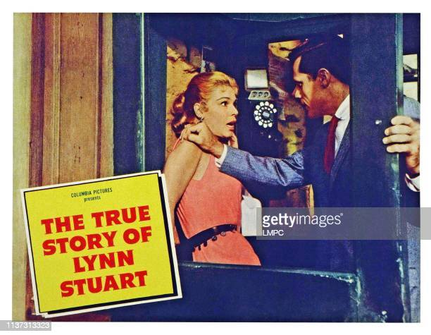 The True Story Of Lynn Stuart US lobbycard from left Betsy Palmer Jack Lord 1958
