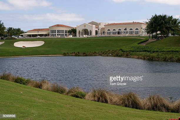 The Trump International Golf Club at VH1's Annual Fairway To Heaven Celebrity Golf Tournament March 15 2004 in West Palm Beach Florida