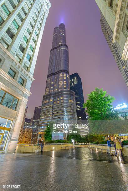 The Trump International Hotel and Tower in Chicago