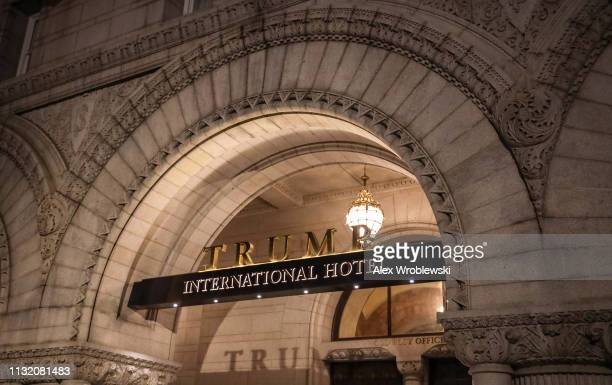 The Trump International Hotel is seen on March 22 2019 in Washington DC Robert Mueller submitted his Russia probe report on Friday afternoon to...