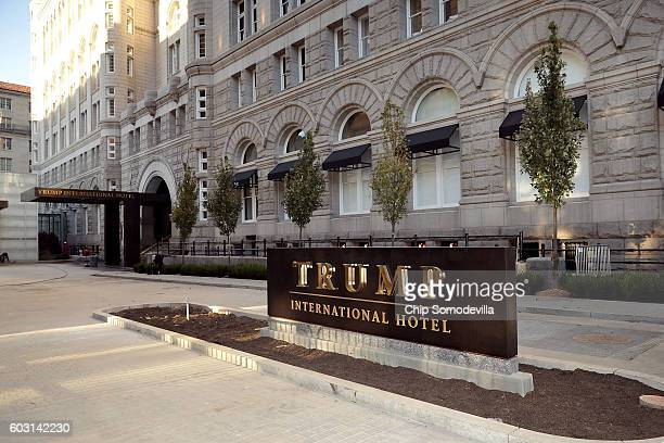 The Trump International Hotel on its first day of business September 12 2016 in Washington DC The Trump Organization was granted a 60year lease to...