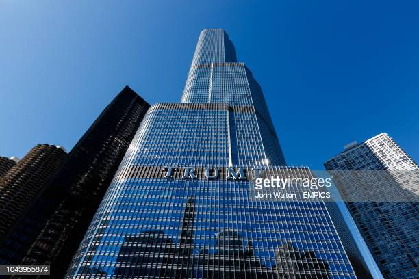 The Trump international hotel tower Chicago Buildings and Landmarks Chicago
