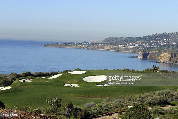 The Trump National Golf Club is seen on January 14 2005 in Rancho Palos Verdes California The golf course is part of a development which offers homes...