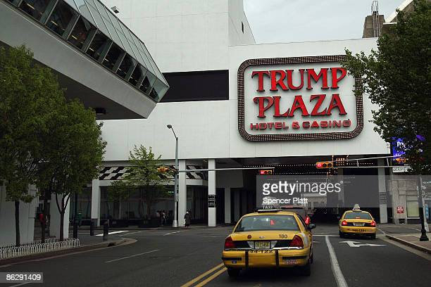 The Trump Plaza casino is seen on April 29, 2009 in Atlantic City, New Jersey. Many Atlantic City residents are dependent on the struggling gaming...