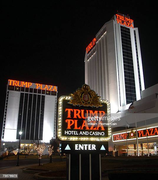 The Trump Plaza is one of the Trump properties that may potentially be sold March 14, 2007 in Atlantic City, New Jersey. Trump Entertainment Resorts...
