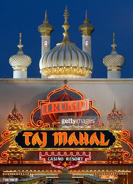 The Trump Taj Mahal is one of the Trump properties that may potentially be sold March 14, 2007 in Atlantic City, New Jersey. Trump Entertainment...