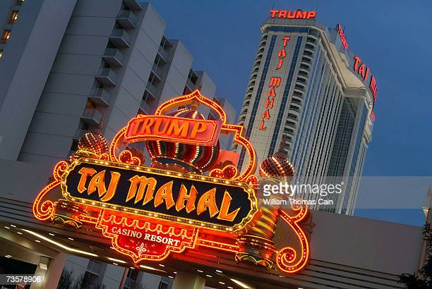 The Trump Taj Mahal is one of the Trump properties that may potentially be sold March 14 2007 in Atlantic City New Jersey Trump Entertainment Resorts...