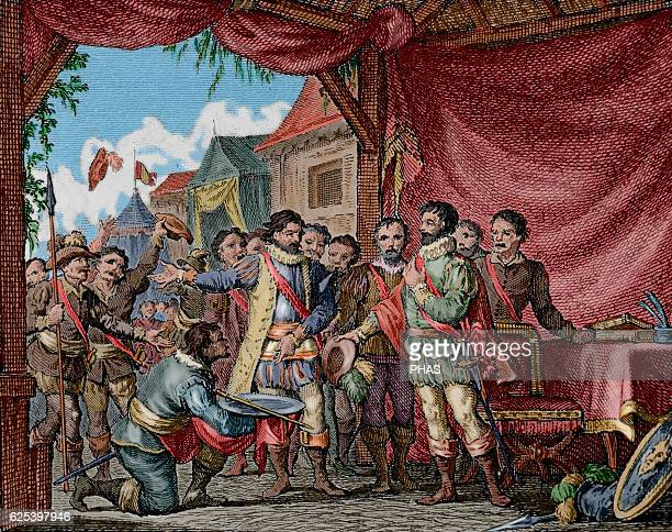 The Truthful History of the Conquest of New Spain by Bernal Diaz del Castillo The Council of the Villa Rica of the Vera Cruz proposed to appoint of...