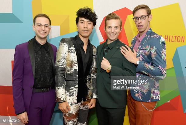 The Try Guys at the 2017 Streamy Awards at The Beverly Hilton Hotel on September 26 2017 in Beverly Hills California
