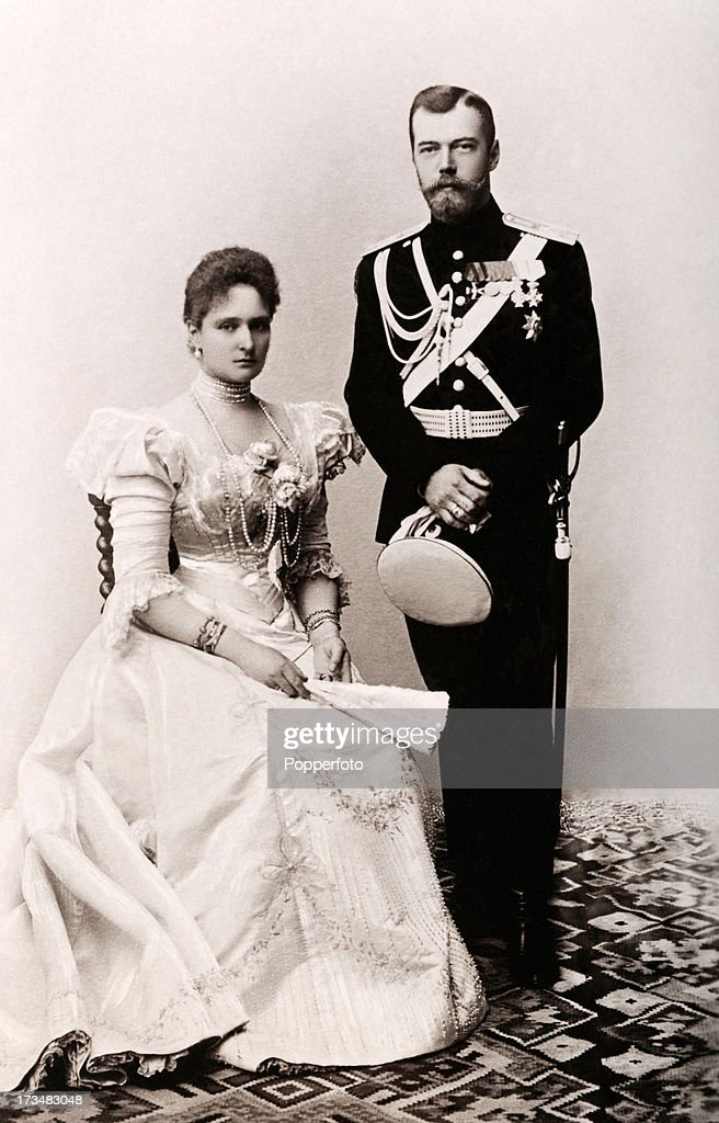Tsar And Tsarina Of Russia : News Photo