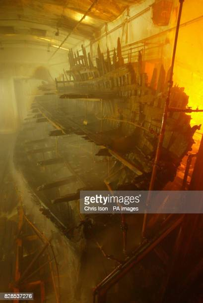 The Tudor warship Mary Rose sits in an atmospherically controlled dry dock in Portsmouth's historic dockyard It is 20 years since the pride of Henry...