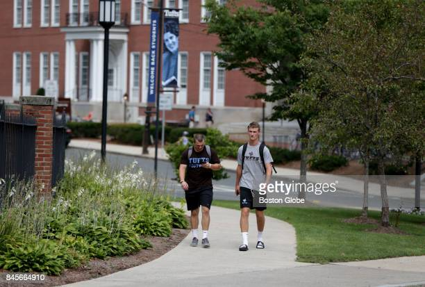 The Tufts University campus in Medford MA is pictured on Aug 31 2017