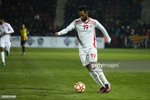 The Tunisia player Khalifa Saber of Olympique Marseille during the friendly football match between the selections of Catalonia vs Tunisia atthe...