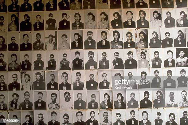 The Tuol Sleng Museum documents and commemorates the thousands of murders that took place on the site during the Pol Pot Regime Phnom Penh Cambodia |...
