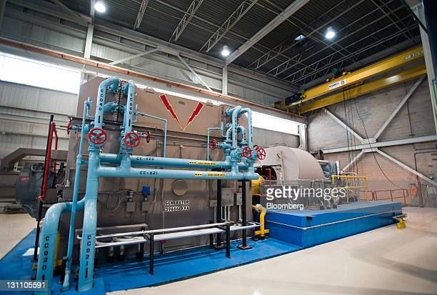 The turbine room operated by Covanta Holding Corp is seen at the Lancaster County Solid Waste Management Authority WastetoEnergy facility in...