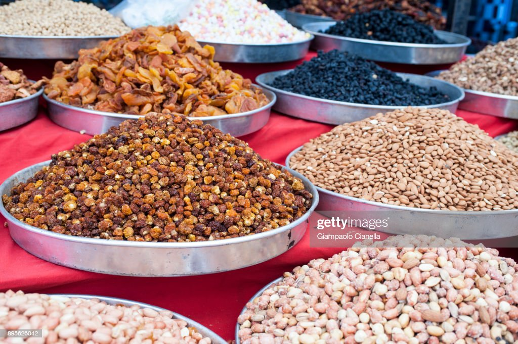the Turgutris market in Turkey : Stock Photo