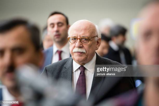The Turkish tourism minister Nabi Avci at the International Tourism Trade Fair in Berlin Germay 09 March 2017 Photo Gregor Fischer/dpa | usage...