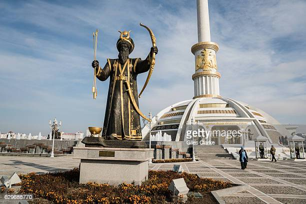 The Turkmenistan capital of Ashgabat is about the size of Spain and with around 5 million inhabitants. The reclusive central Asian country borders...