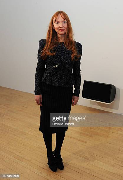 The Turner Prize 2010 winner Susan Philipsz attends the Turner Prize 2010 winner announcement at Tate Britain on December 6 2010 in London England