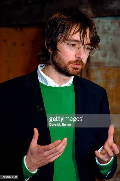 The Turner Prize winner of 2005 for his project Shedboatshed Simon Starling attends the Turner Prize 2005 ceremony at Tate Britain on December 5 2005...
