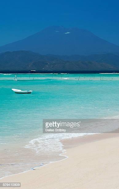 The turquoise coast of Nusa Lembongan, Bali