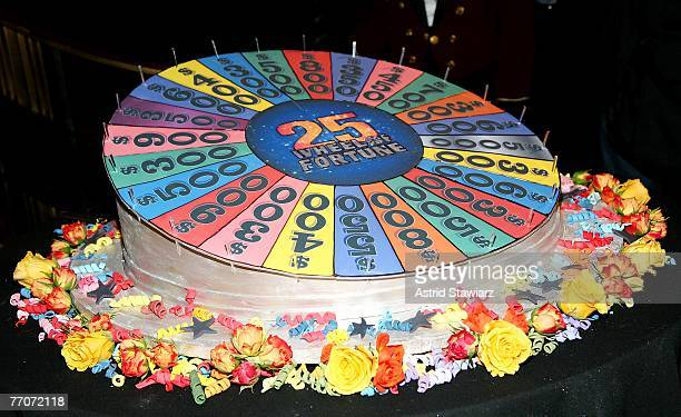 The TV game show 'Wheel Of Fortune' celebrates its 25th anniversary at Radio City Music Hall on September 27 2007 in New York City