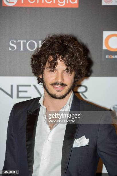 The TV personality Giovanni Masiero attending the charity gala Never Give Up at The Westin Palace of Milan Milan Italy 4th April 2017