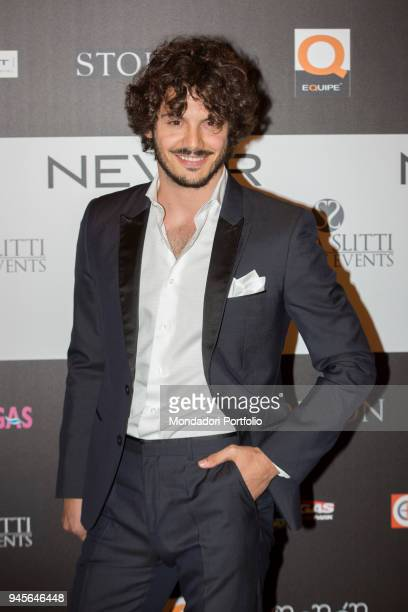 The TV personality Giovanni Masiero attending the charity gala Never Give Up at The Milan Westin Palace Milan Italy 4th April 2017