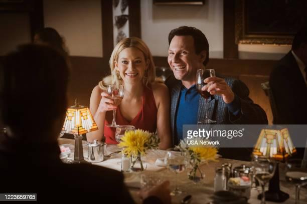 "The Twelfth of Never"" Episode 206 -- Pictured: Rachel Keller as Linda Kolkena, Christian Slater as Dan Broderick --"