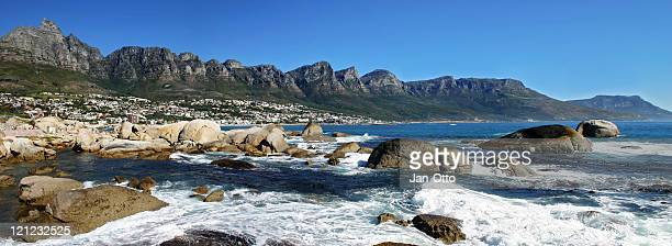 """The """"Twelve Apostels"""" in Cape Town."""