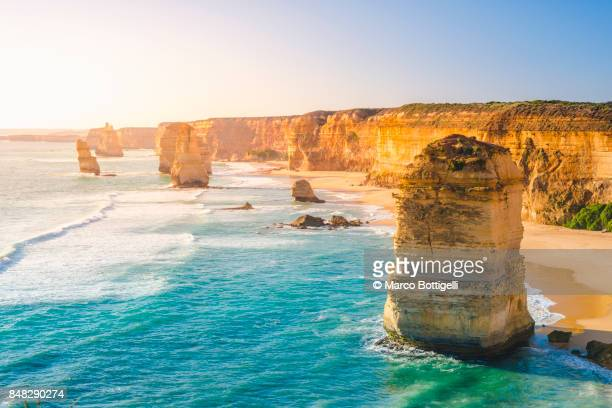 the twelve apostles, australia. - australia stock pictures, royalty-free photos & images