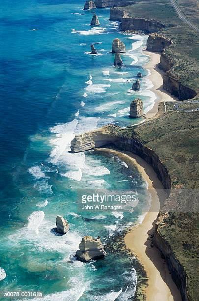 The Twelve Apostles Coastline