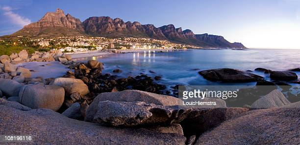 The Twelve Apostles Mountains in Cape Town