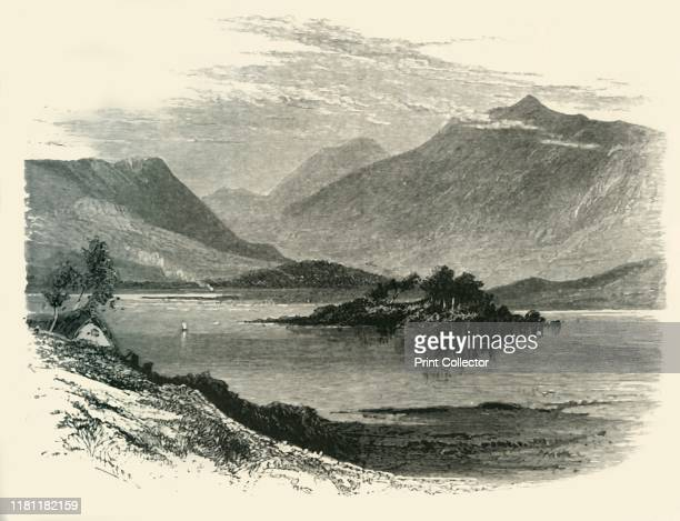 The Twelve Pins of Binabola' circa 1870 The Twelve Bens or Twelve Pins a quartzite mountain range in Connemara County Galway on the west coast of...