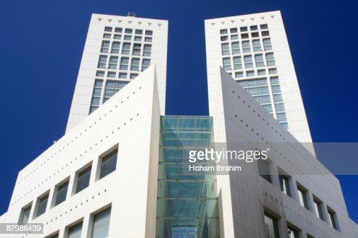 The Twin Center Casablanca Morocco High-Res Stock Photo ...