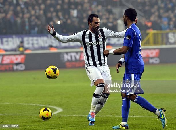 The two balls during Besiktas vs Kasimpasaspor match under Spor Toto Super League 15th week in Istanbul, Turkey, December 15.