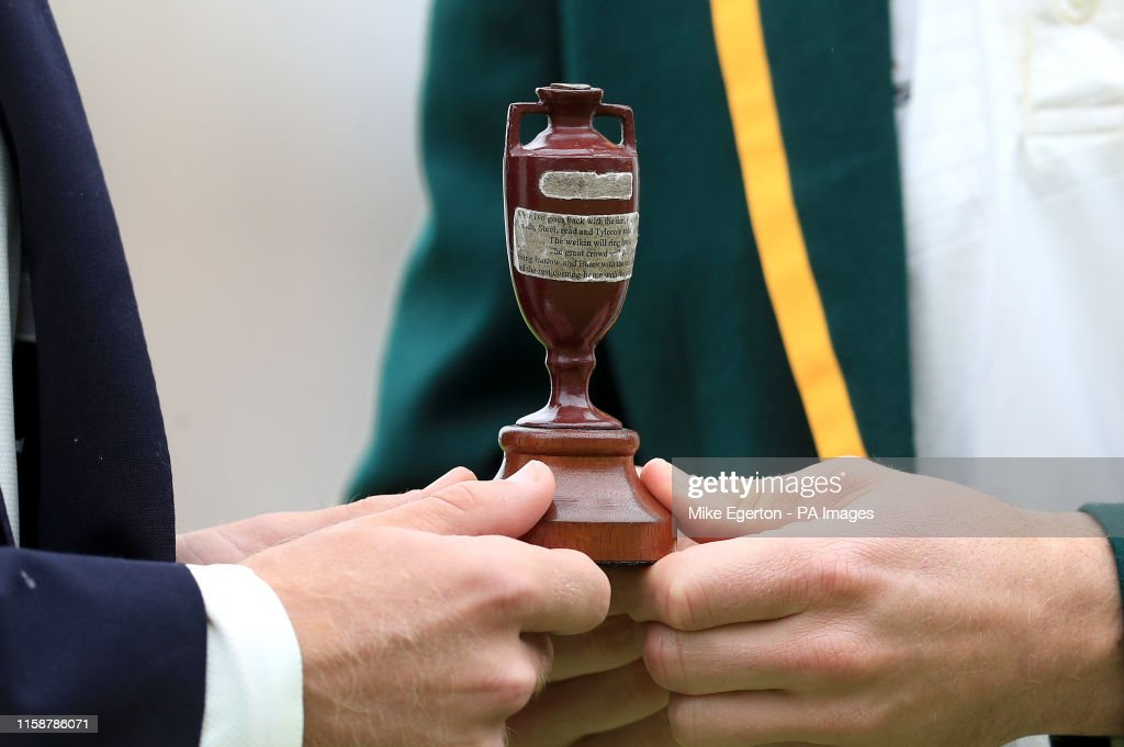 England v Australia - Specsavers Ashes Series - First Test - Preview Day Three - England Nets - Edgbaston : News Photo