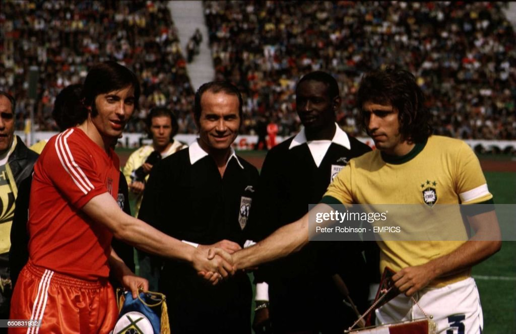 Soccer - FIFA World Cup 1974 West Germany - Third Place Match - Brazil v Poland - Olympic Stadium, Munich : News Photo