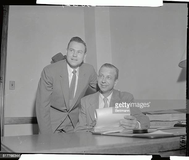 The two Cleveland Homicide detectives who advised that Dr Samuel Sheppard should be considered the number one suspect in the murder of his wife...