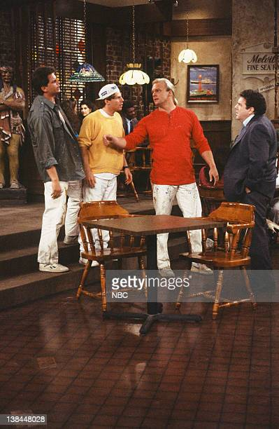 CHEERS The Two Faces of Norm Episode 5 Air Date Pictured Rob Moran as Dennis Hammill James C Victor as Scott Eric Allan Kramer as Rudy George Wendt...