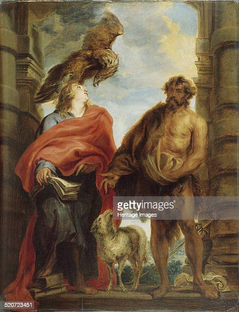 The Two Holy Saints John Found in the collection of Real Academia de Bellas Artes de San Fernando Madrid