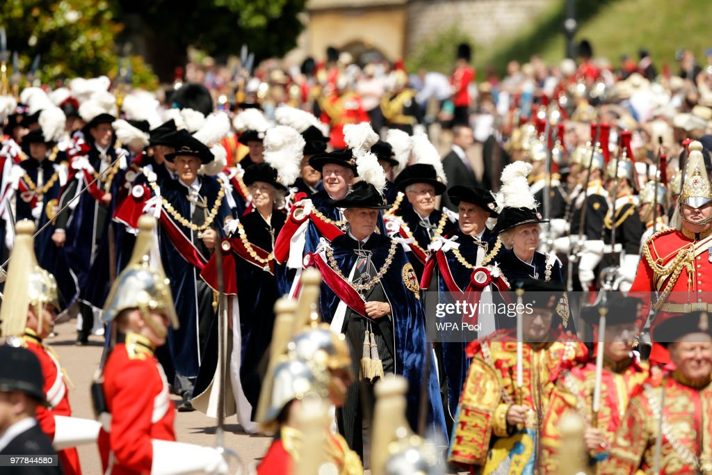 Order Of The Garter Service : Photo d'actualité