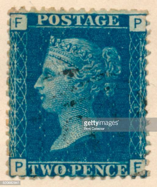 The Two Penny Blue or The Two Pence Blue was the worlds second official postage stamp issued after the Penny Black It was issued in the United...