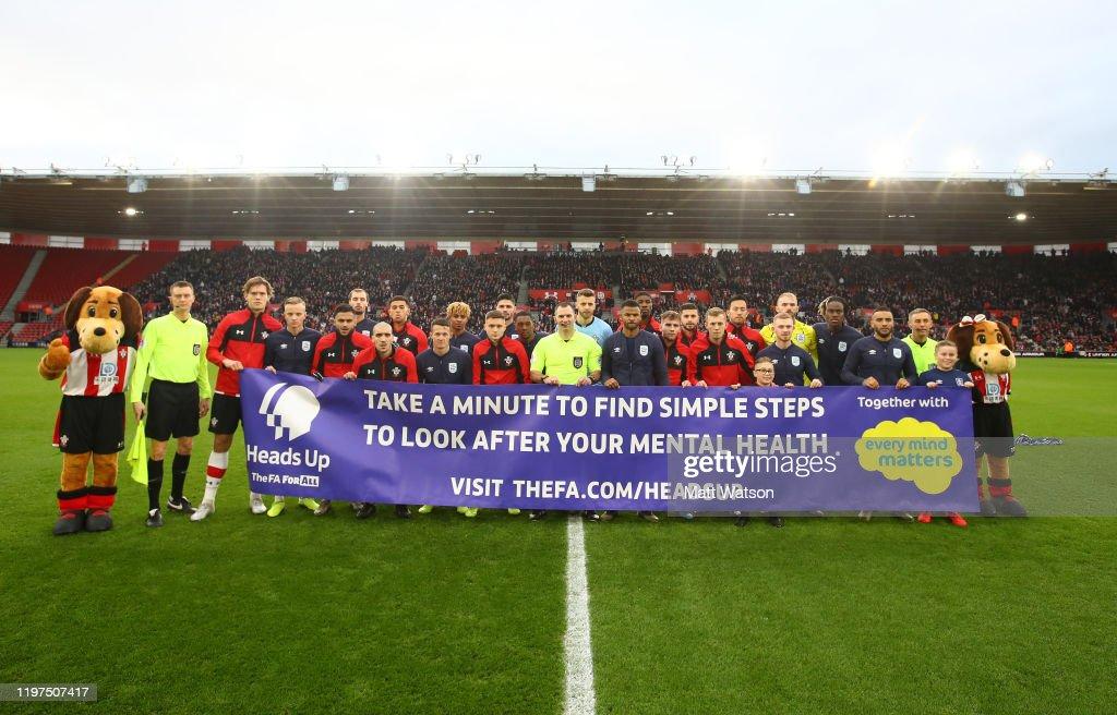 Southampton FC v Huddersfield Town - FA Cup Third Round : News Photo